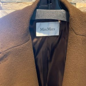 MaxMara Jackets & Coats - MaxMara  camel hair coat with intricate stitching